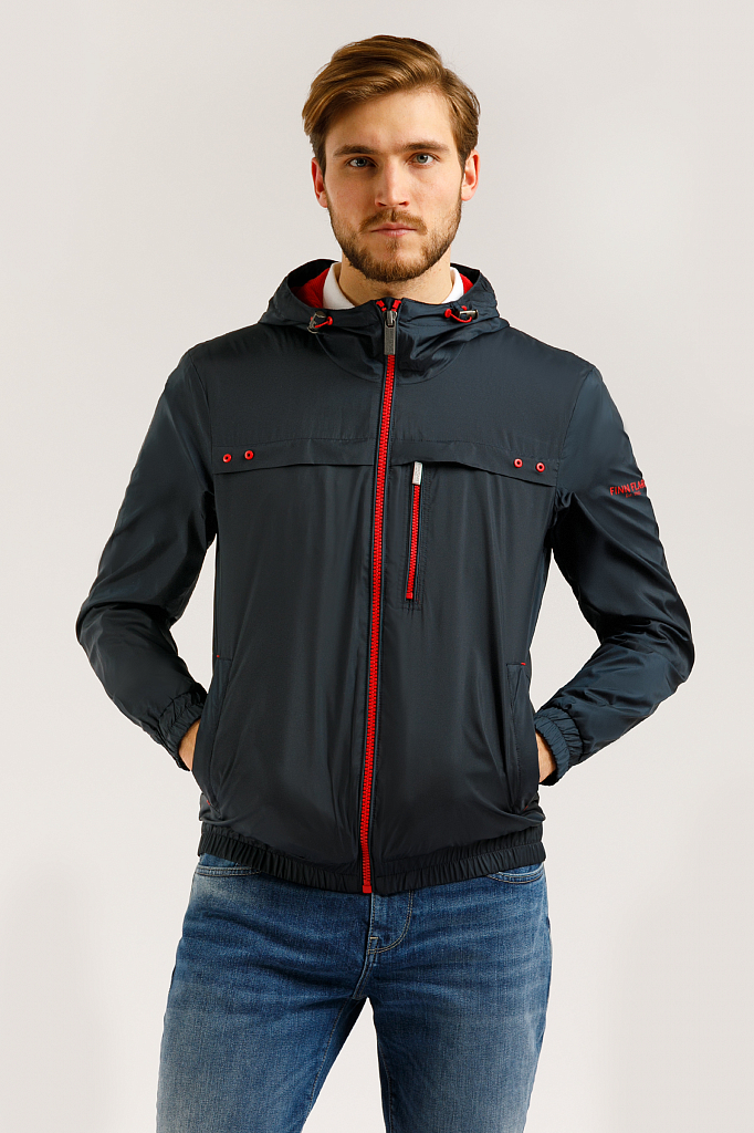 Куртка мужская Finn-Flare B20-23003 синяя M