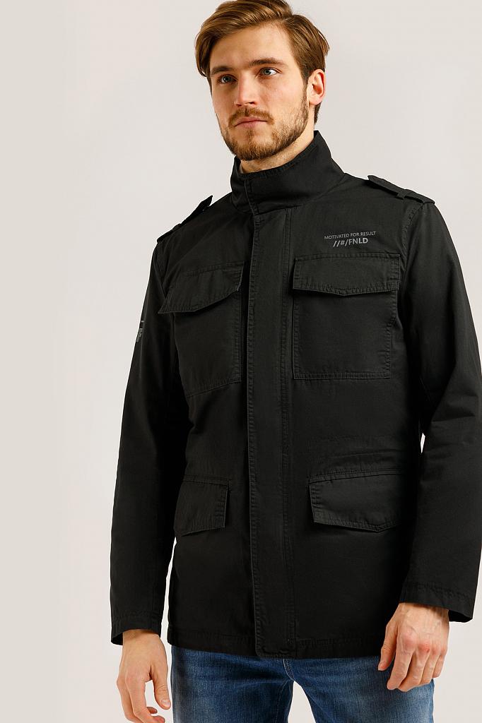 Куртка мужская Finn-Flare B20-22050 черная M