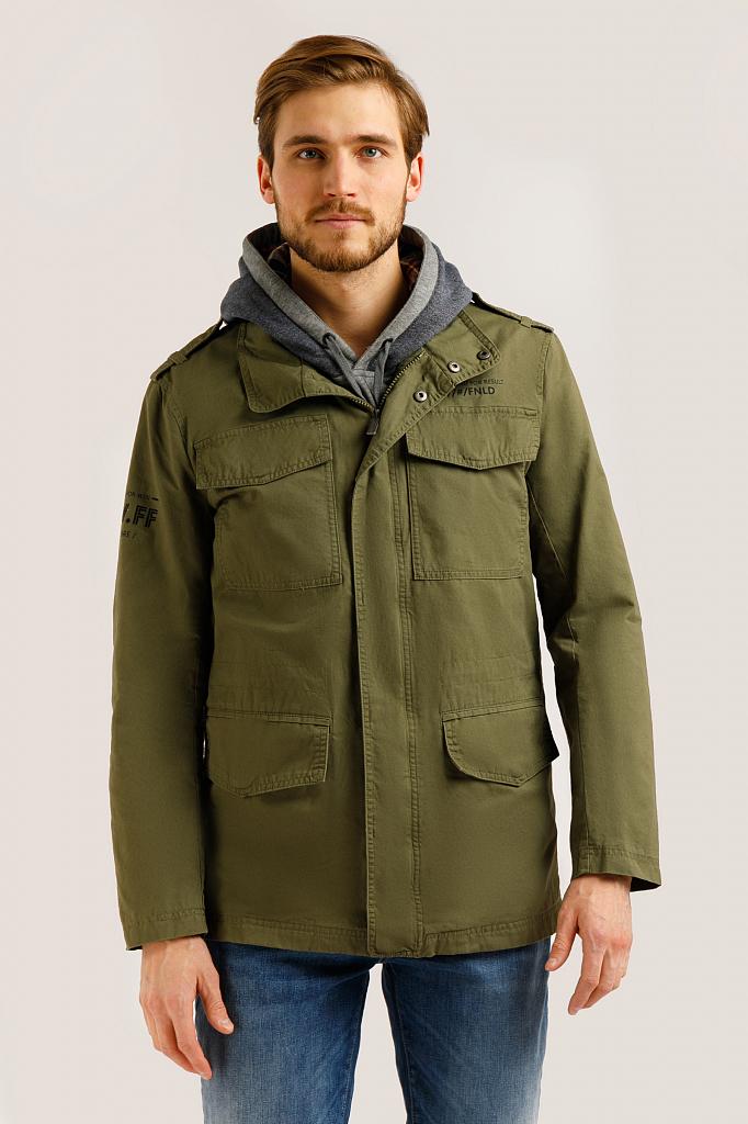 Куртка мужская Finn-Flare B20-22050 зеленая M