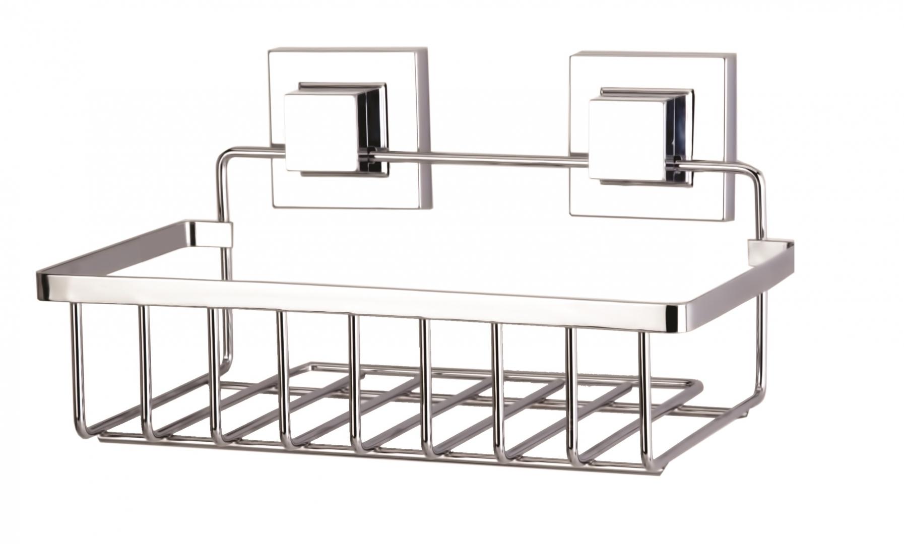 Полка в ванную TEKNO-TEL прямая EF241 1 ярус 24х15х14 самоклеящаяся по цене 1 281