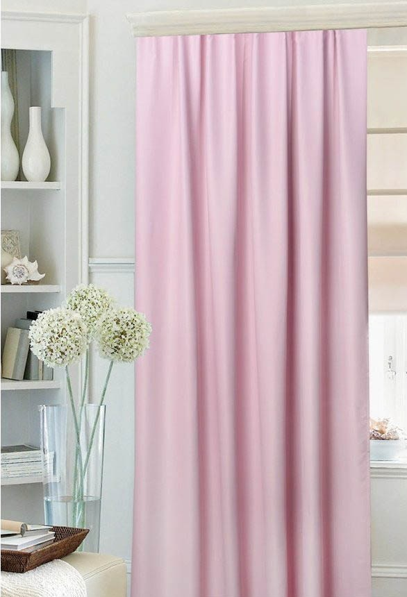 Mona Liza Классические шторы Wendel Цвет: Розовый