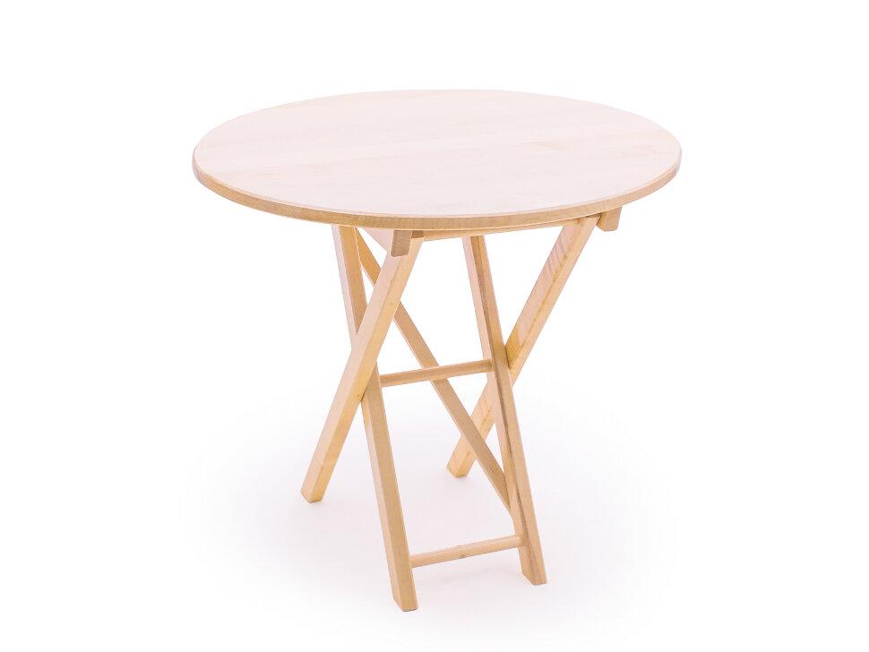 Садовый стол  СМ049Б Береза, 650 мм