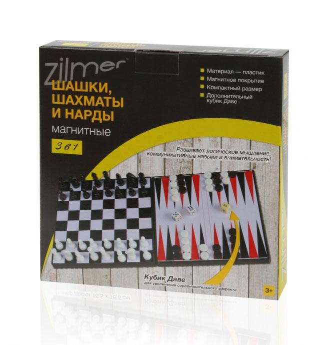 Набор настольных игр Zilmer 3 в