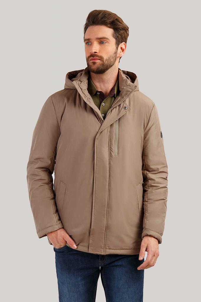 Куртка мужская Finn-Flare B19-21013 бежевая M