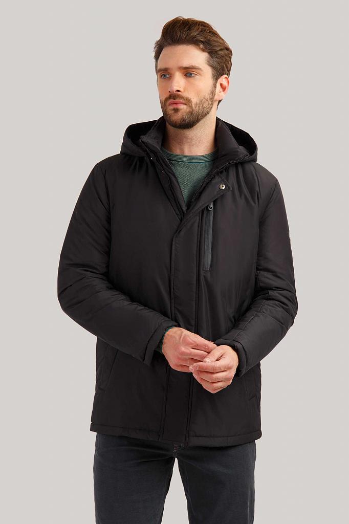 Куртка мужская Finn-Flare B19-21013 черная XL