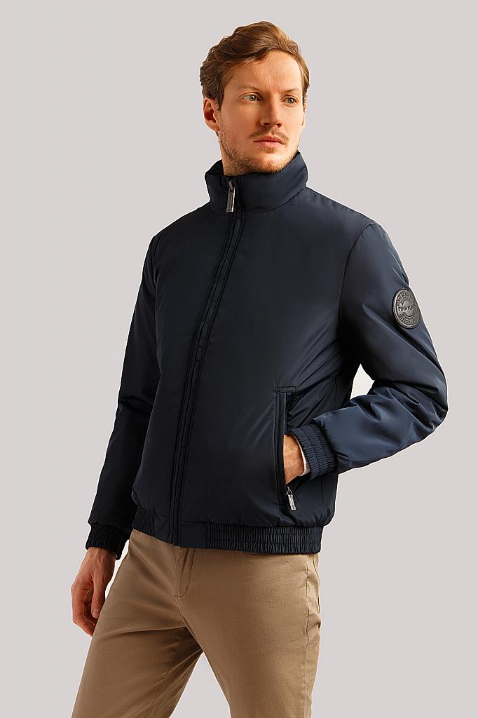 Куртка мужская Finn-Flare B19-22000 синяя XL