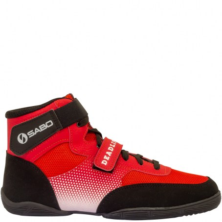 Штангетки (Ботинки ) для становой тяги САБО Дэдлифт 1, красный Дэдлифт 1 по цене 3 095