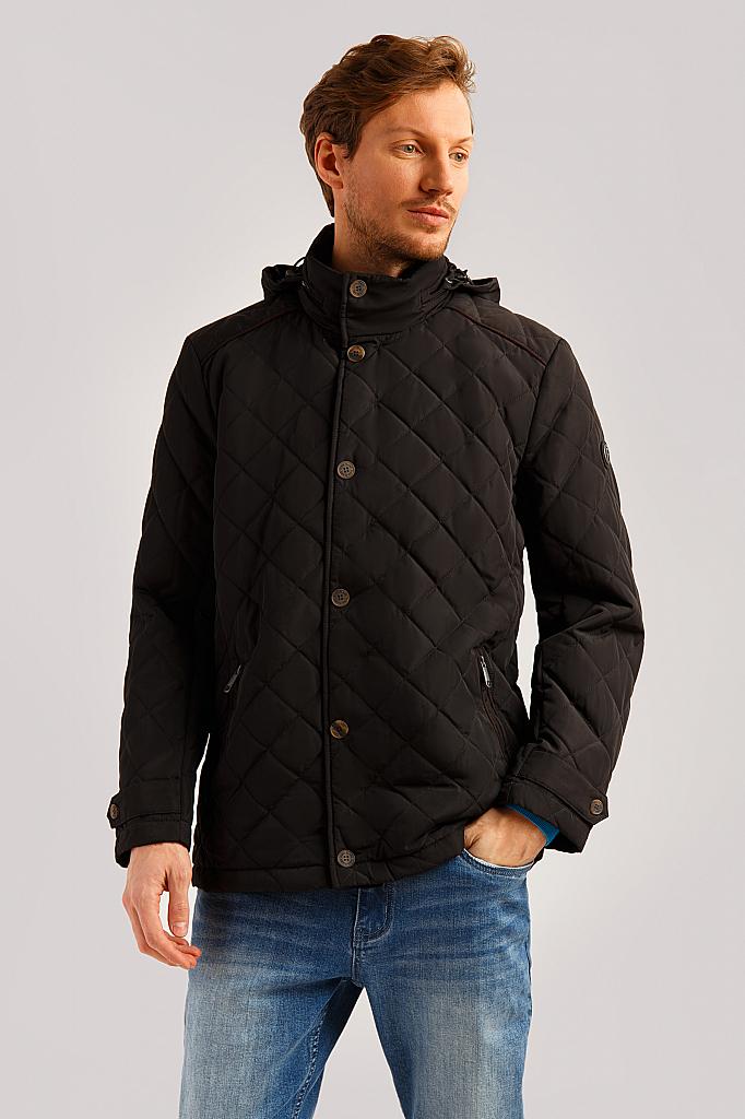 Куртка мужская Finn-Flare B19-21002 черная 2XL фото
