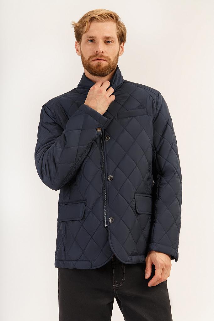 Куртка мужская Finn-Flare A19-21015 синяя S