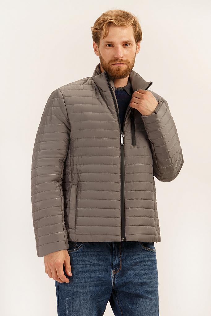 Куртка мужская Finn-Flare A19-21000 серая L
