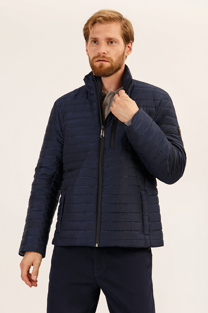Куртка мужская Finn-Flare A19-21000 синяя S