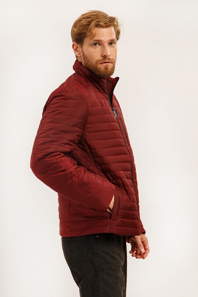 Куртка мужская Finn-Flare A19-21000 бордовая XL