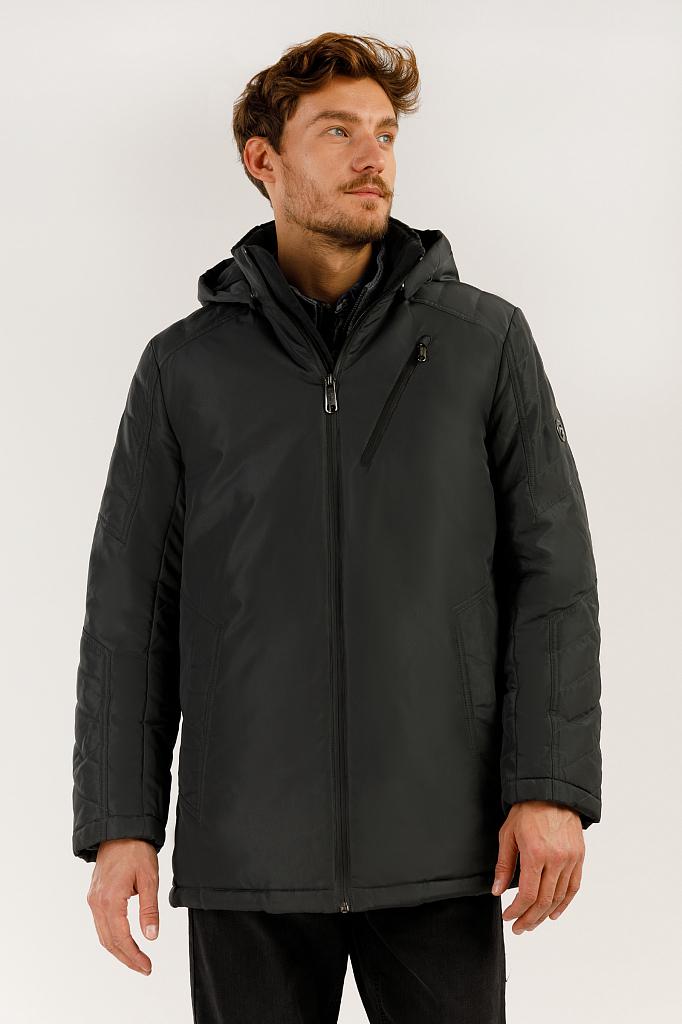 Куртка мужская Finn-Flare A19-21004 серая XL