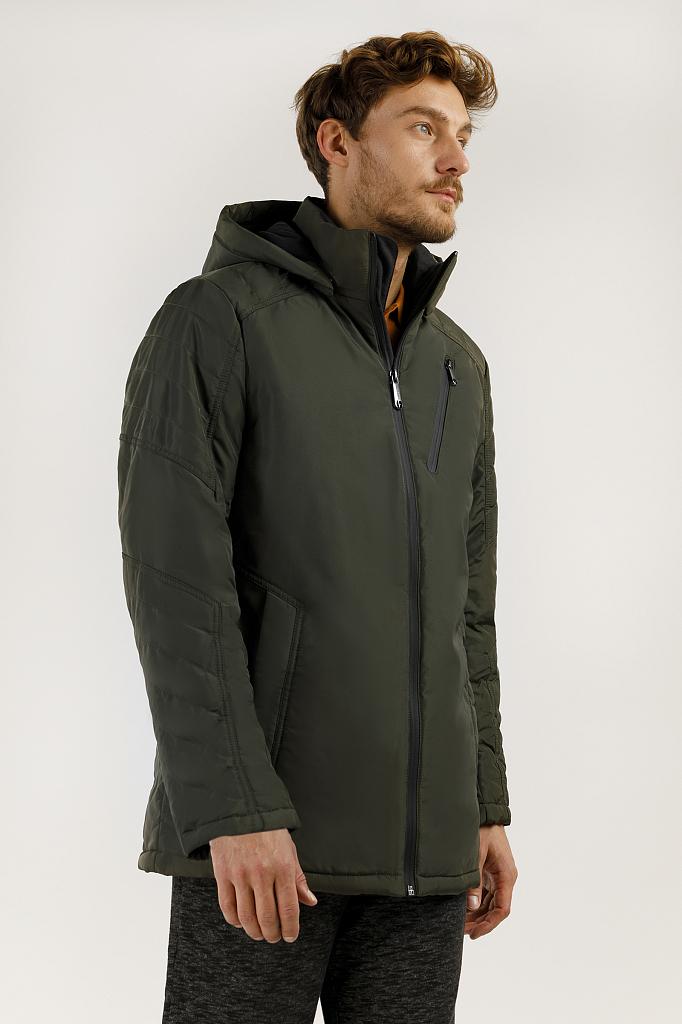 Куртка мужская Finn-Flare A19-21004 зеленая XL