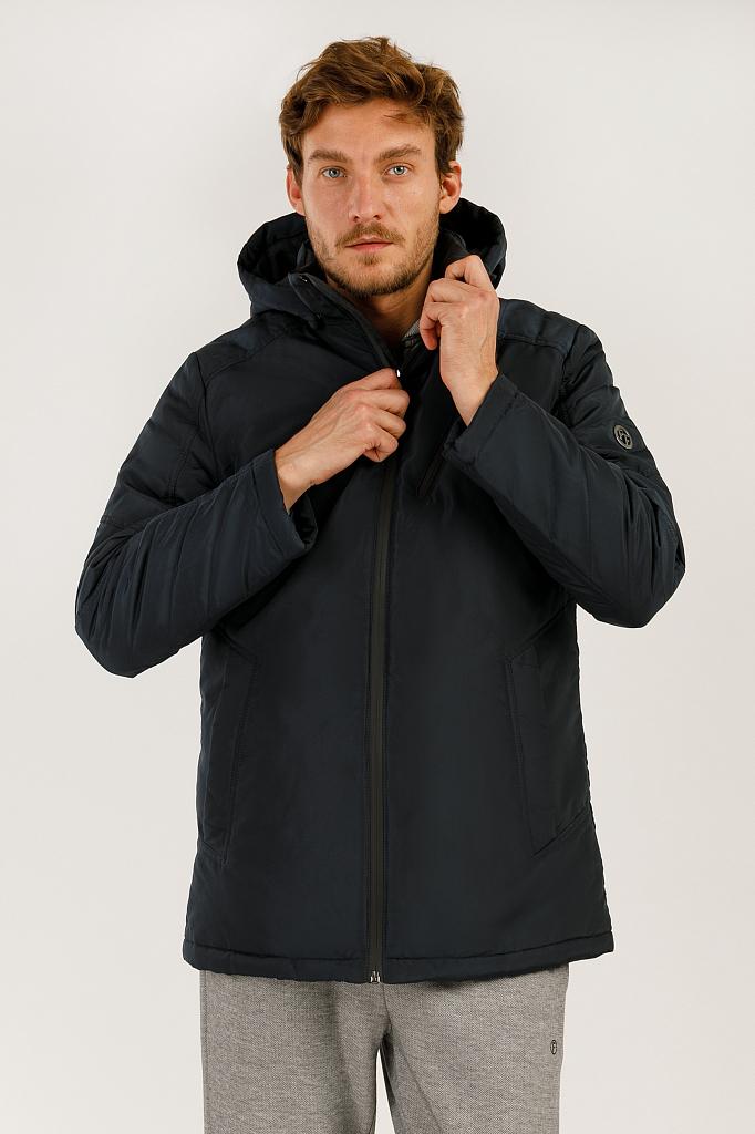 Куртка мужская Finn-Flare A19-21004 синяя XL
