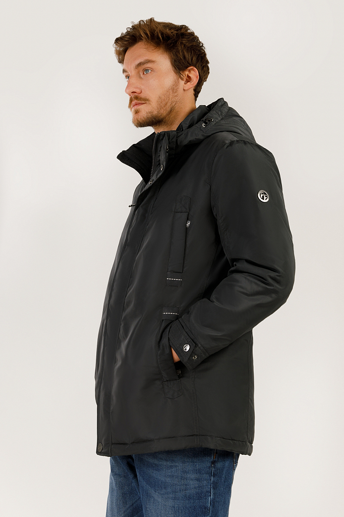 Куртка мужская Finn-Flare A19-21005 серая XL