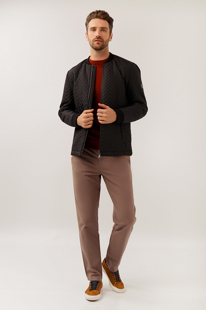Куртка мужская Finn-Flare A19-21036 черная XL