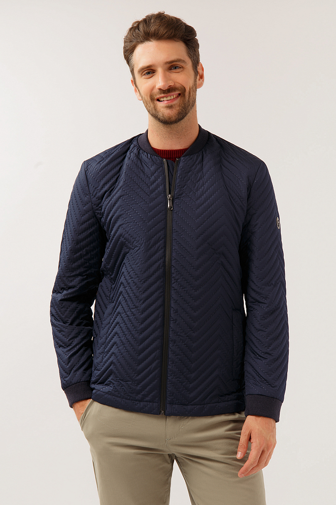 Куртка мужская Finn-Flare A19-21036 синяя S