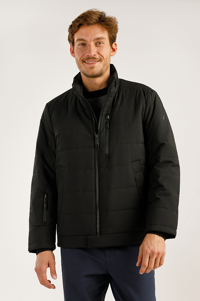 Куртка мужская Finn-Flare A19-42014 черная M