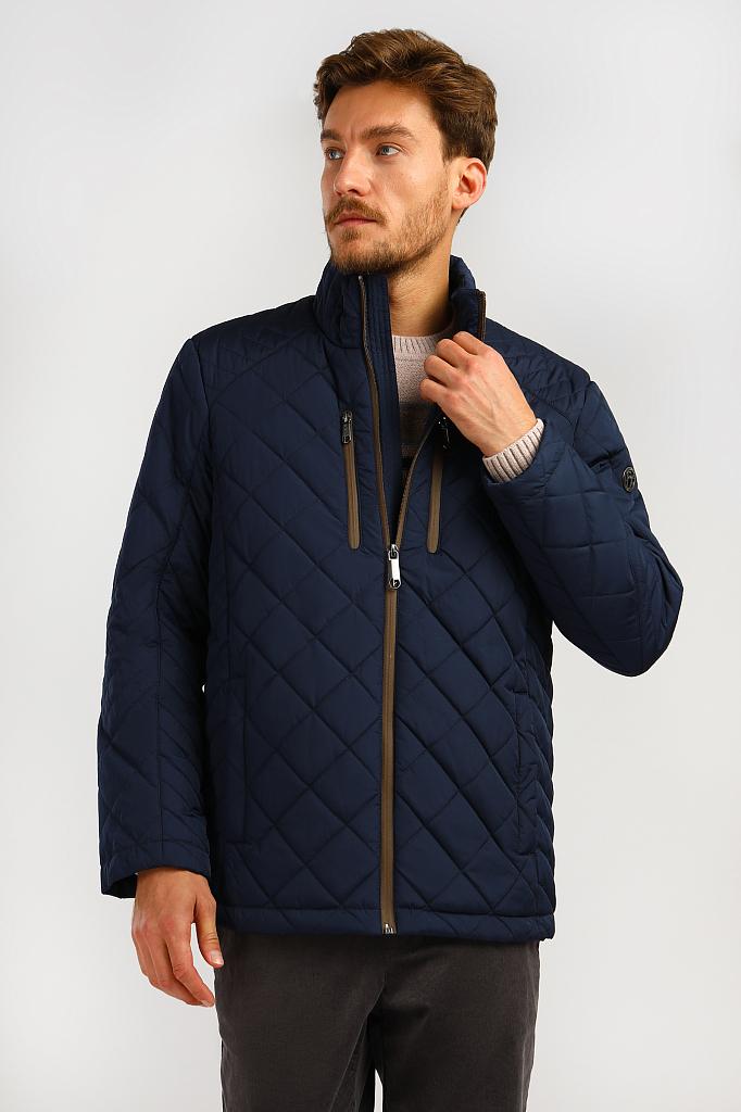 Куртка мужская Finn-Flare A19-21009 синяя S