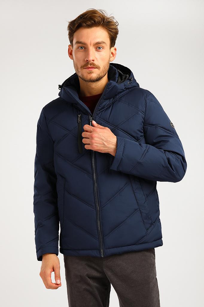 Куртка мужская Finn-Flare A19-21010 синяя XL