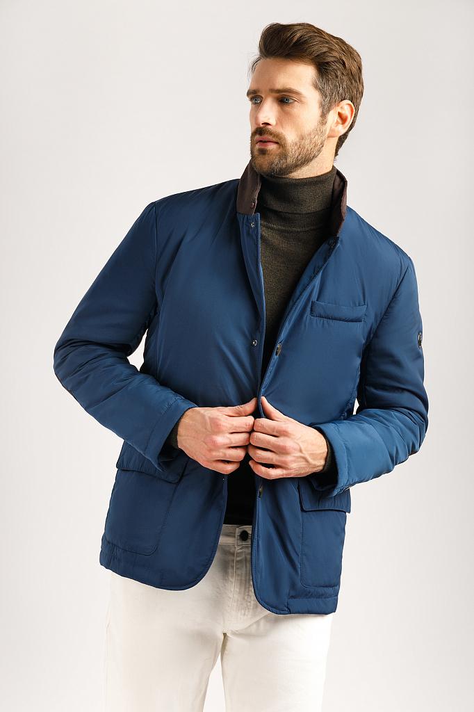 Куртка мужская Finn-Flare A19-21011 синяя XL