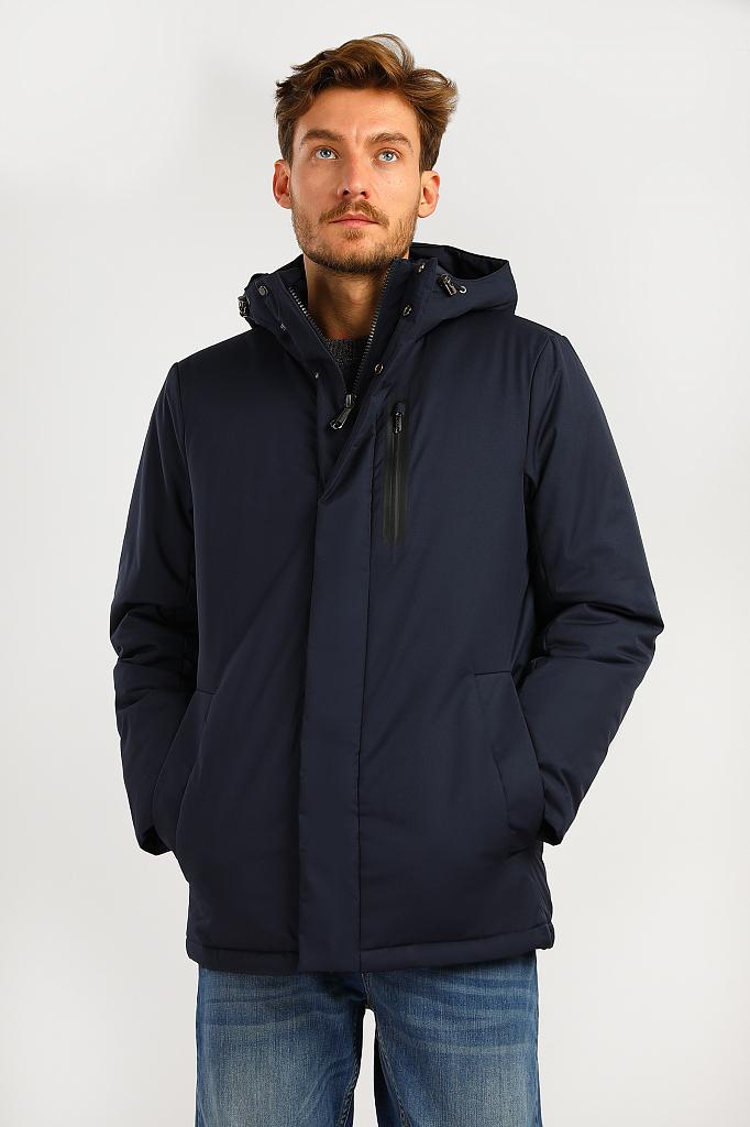 Куртка мужская Finn-Flare A19-21007 синяя S