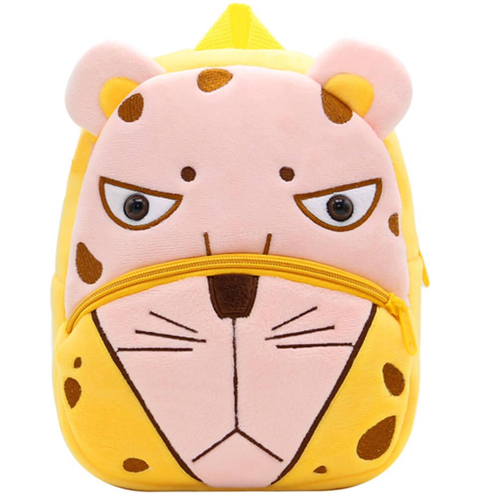 Купить SE-sp002-33, Плюшевый детский рюкзак Sun Eight леопард, Детские рюкзаки