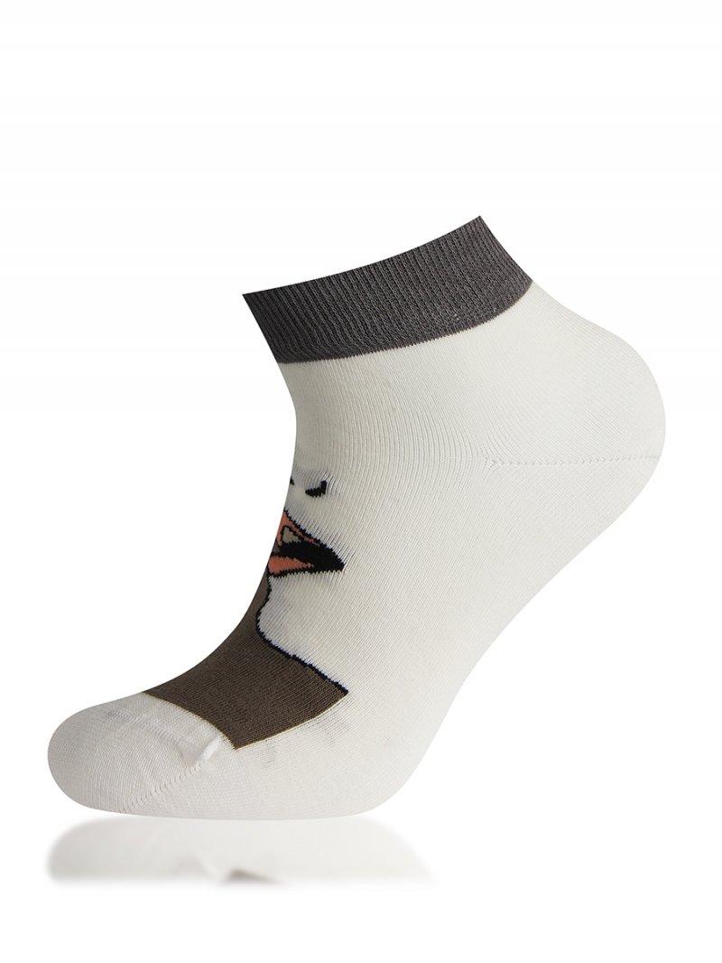 Носки женские Sis 9976 белые 36-39