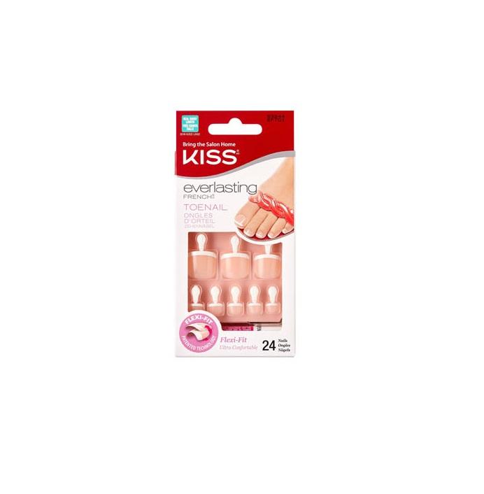 Купить Набор накладных ногтей с клеем, Kiss