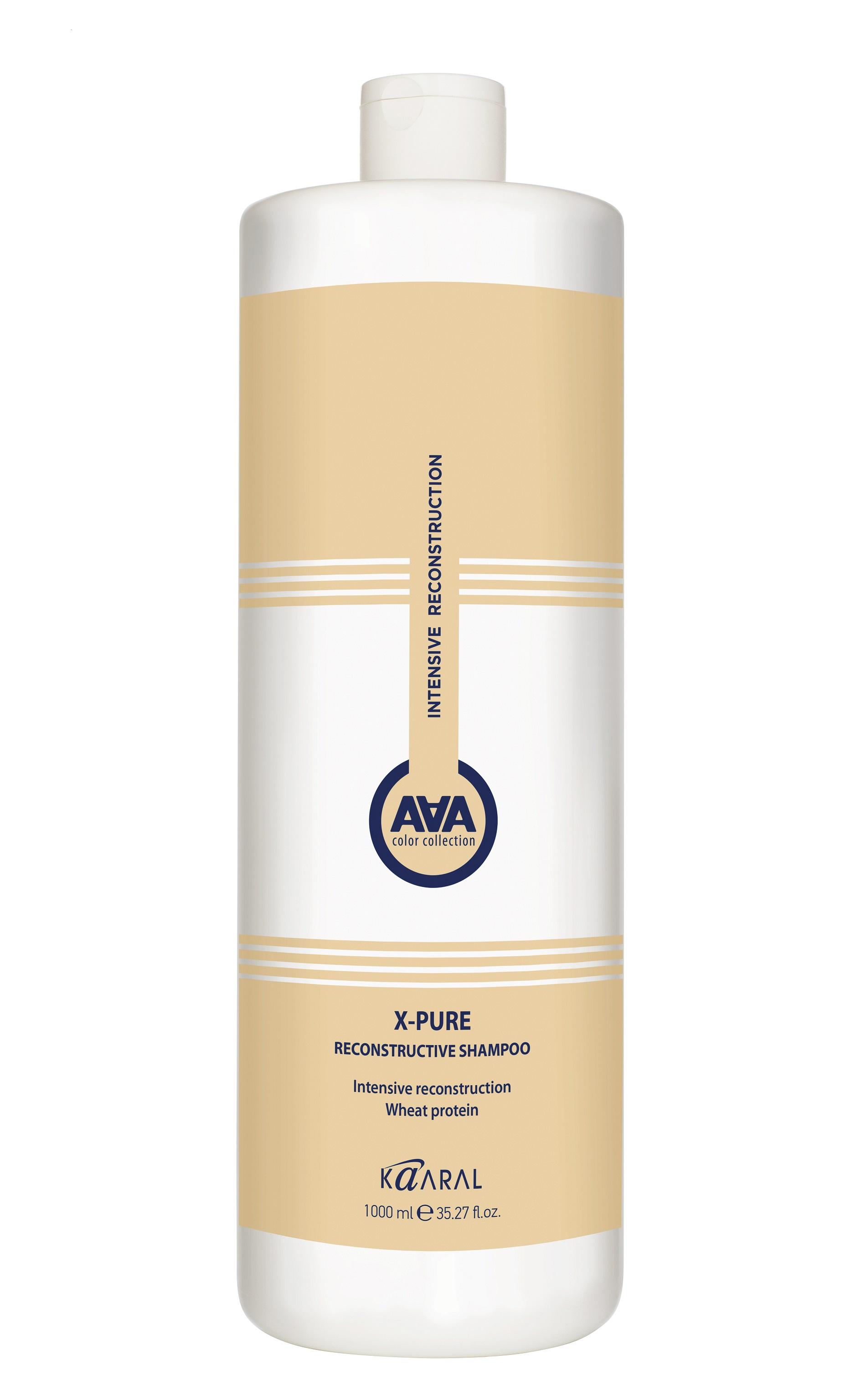 Купить Шампунь восстанавливающий для поврежденных волос с пшеничными протеинами AAA X-FORM 1000мл, Kaaral