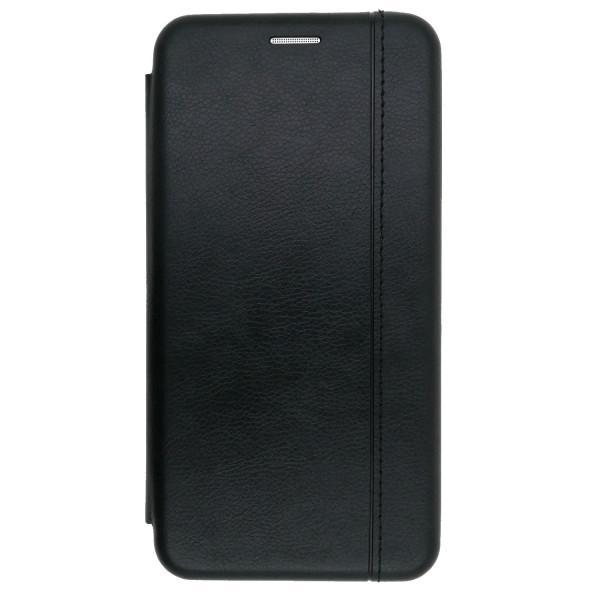 Кожаный чехол-книжка Open Color 2 для Xiaomi Redmi Note 8 Pro Black