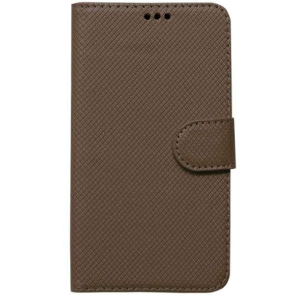 Универсальный кожаный чехол-книжка Texture (4.9-5.3\