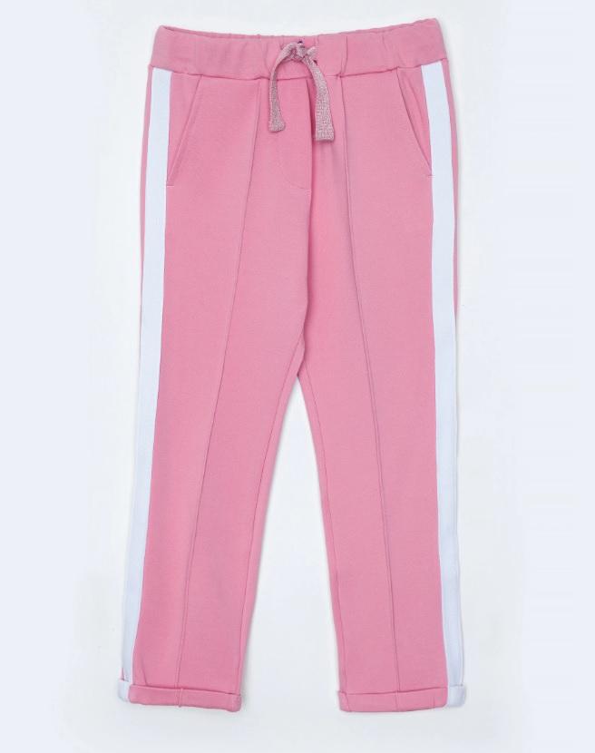 Купить 12001GMC5601, Брюки для девочек Gulliver, цв. розовый, р.104,