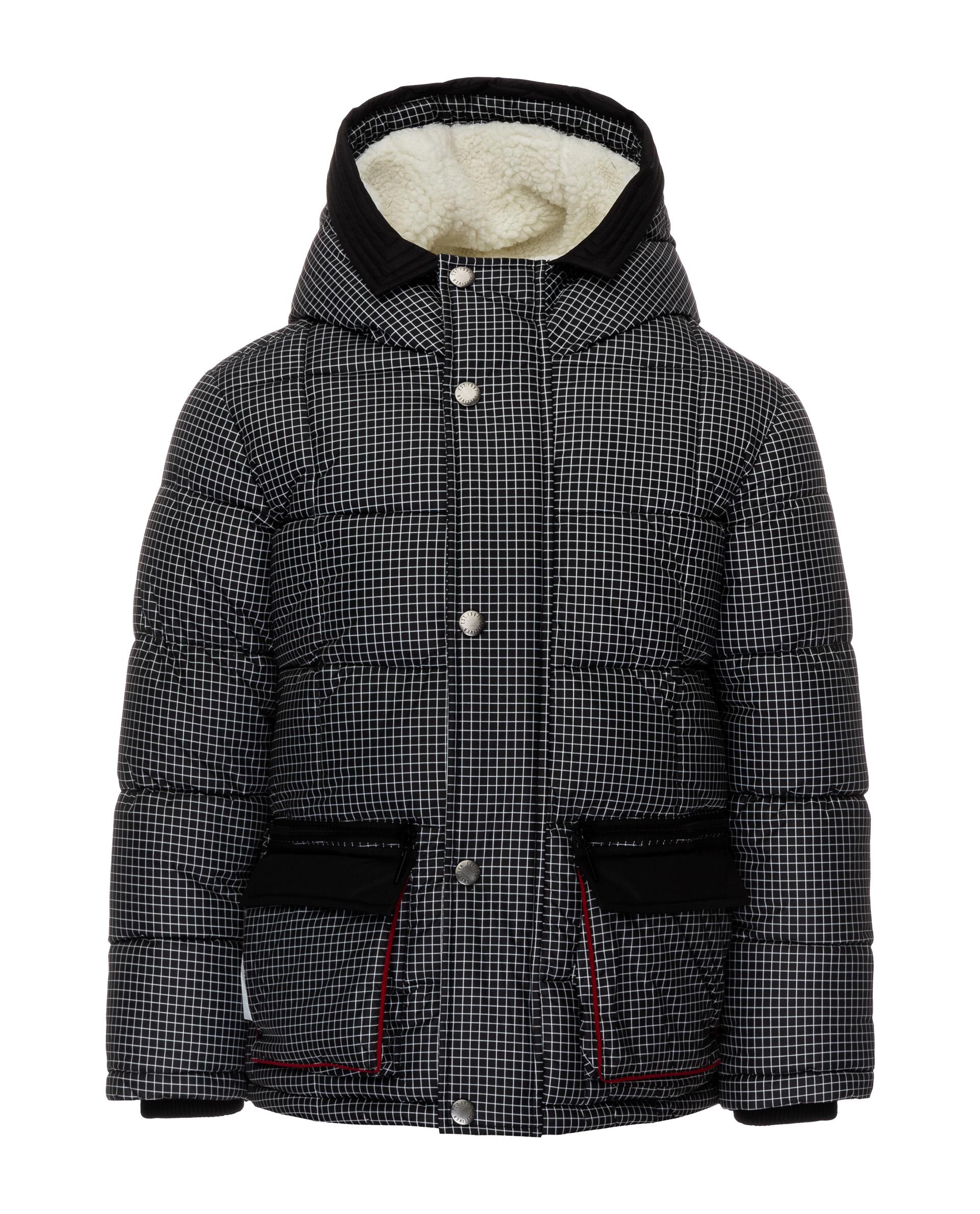 Куртка для мальчиков Gulliver, цв. серый, р.110 21905BMC4105