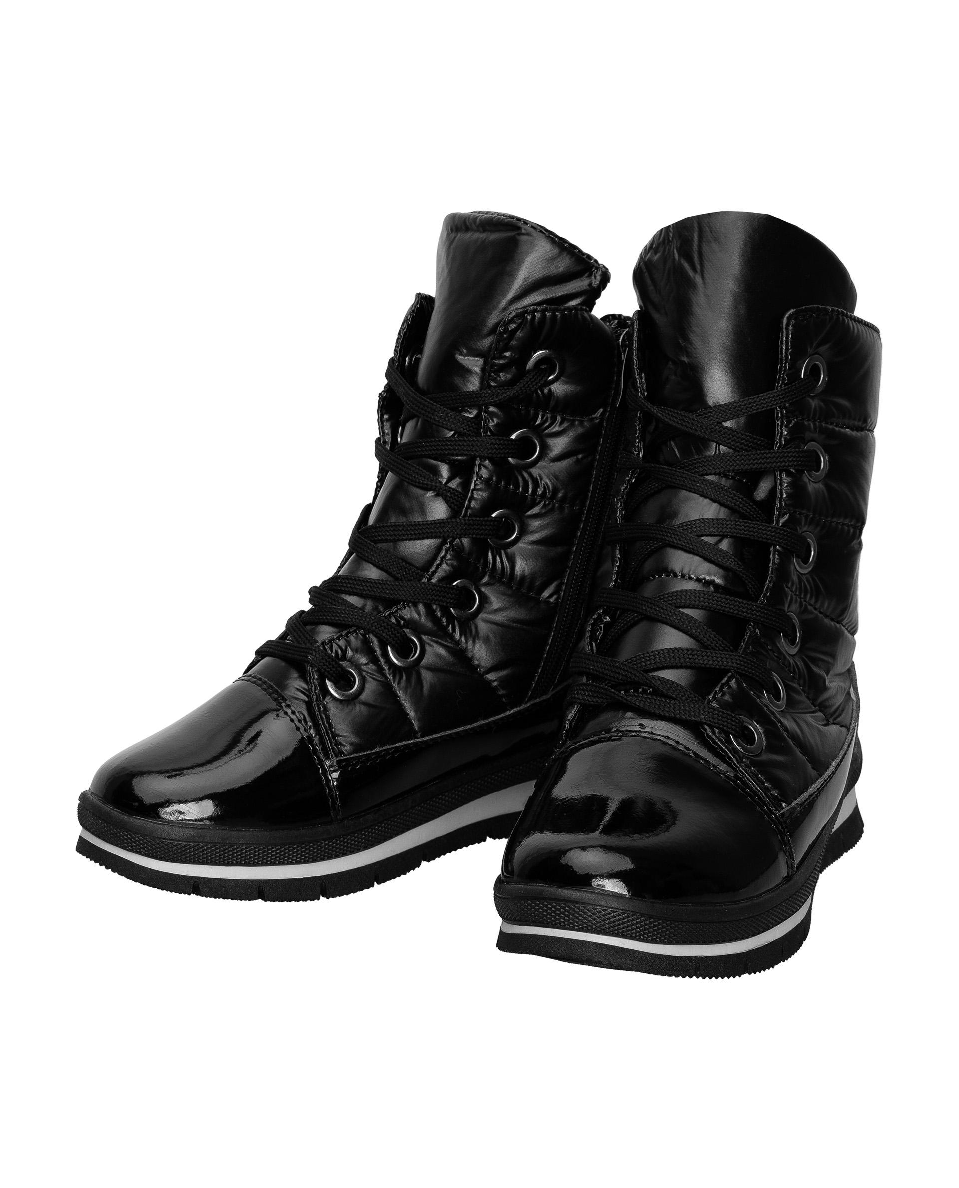 Ботинки детские Gulliver, цв.черный р.34 21908GJS1102