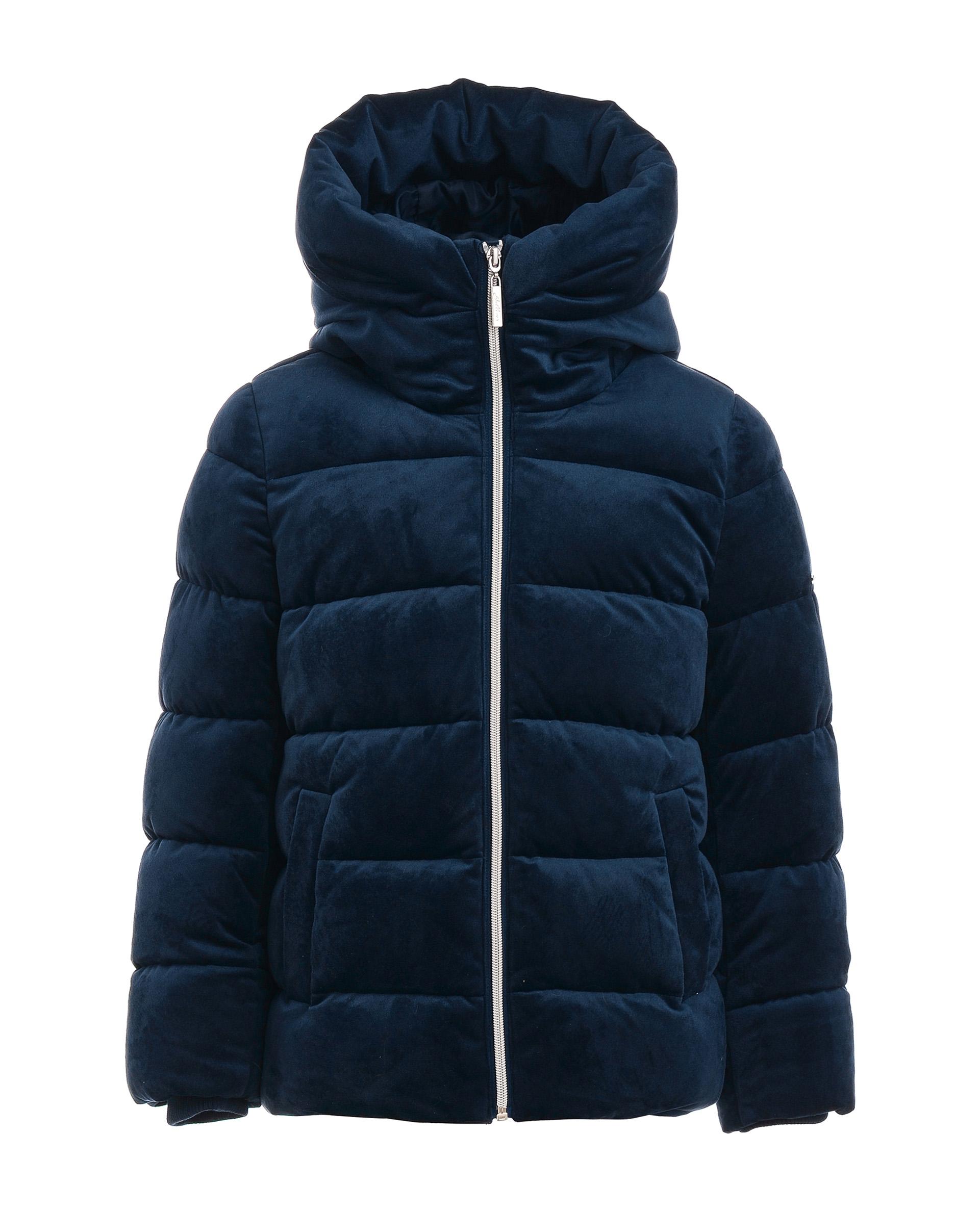 Купить 21909GJC4103, Куртка для девочек Gulliver, цв. синий, р.140,