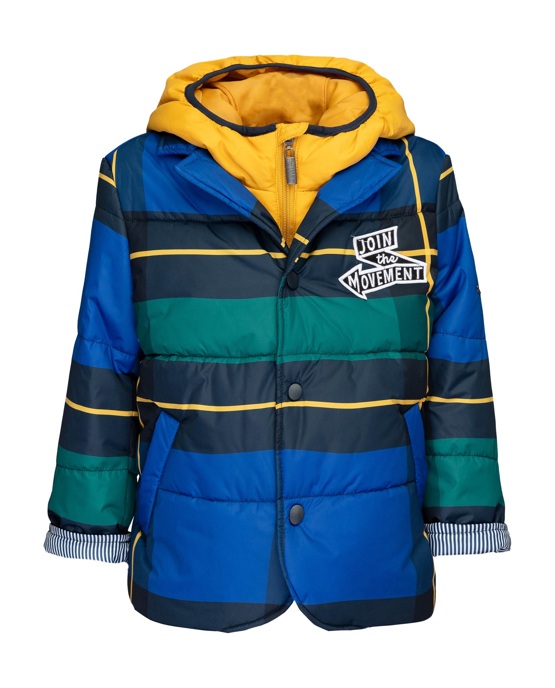 Купить 21904BMC4103, Куртка для мальчиков Gulliver, цв. синий, р.98,