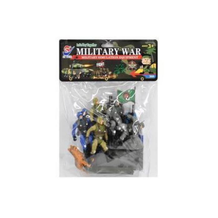 Игровой набор Военный, арт. 8657