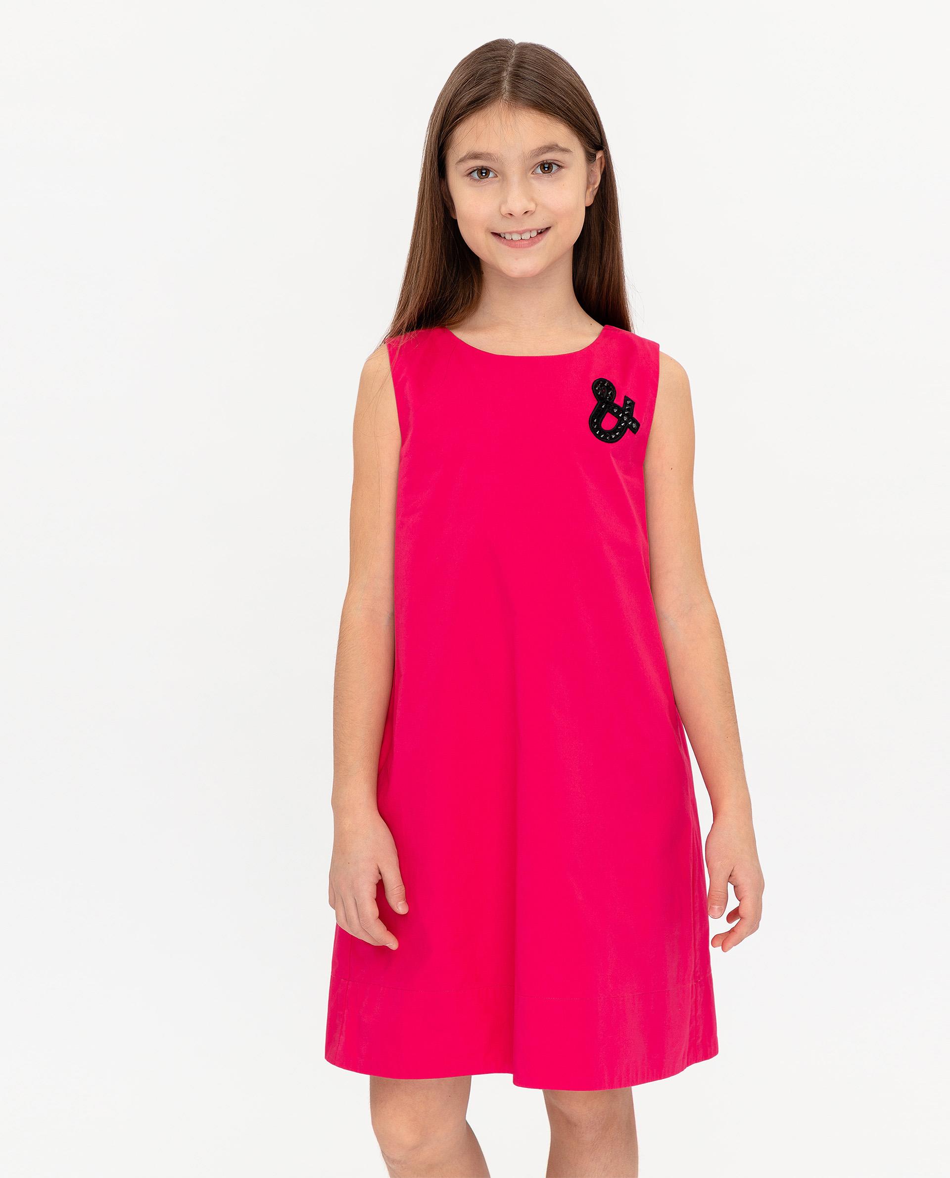 Купить 12007GJC2501, Платье для девочек Gulliver, цв. розовый, р.140,