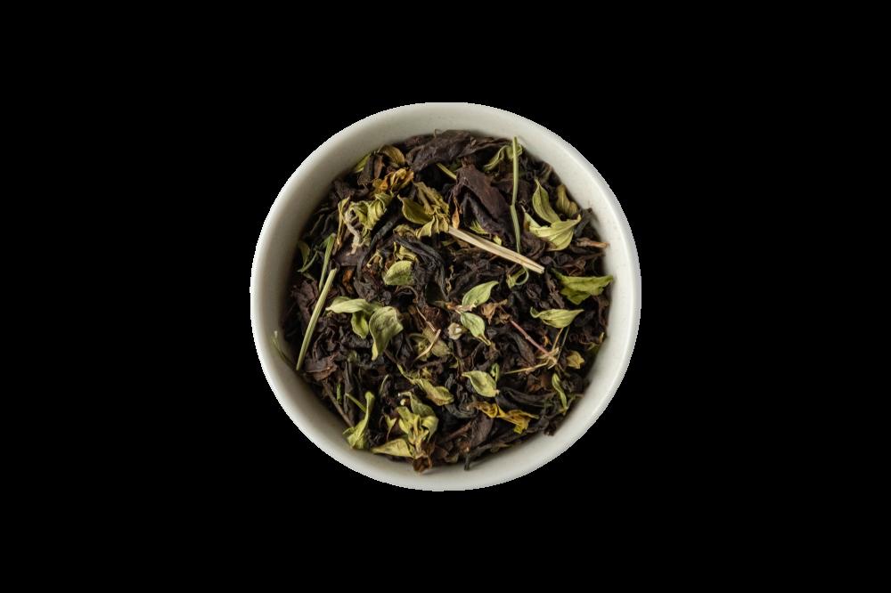 Чай с чабрецом и мятой черный с добавками 50 г