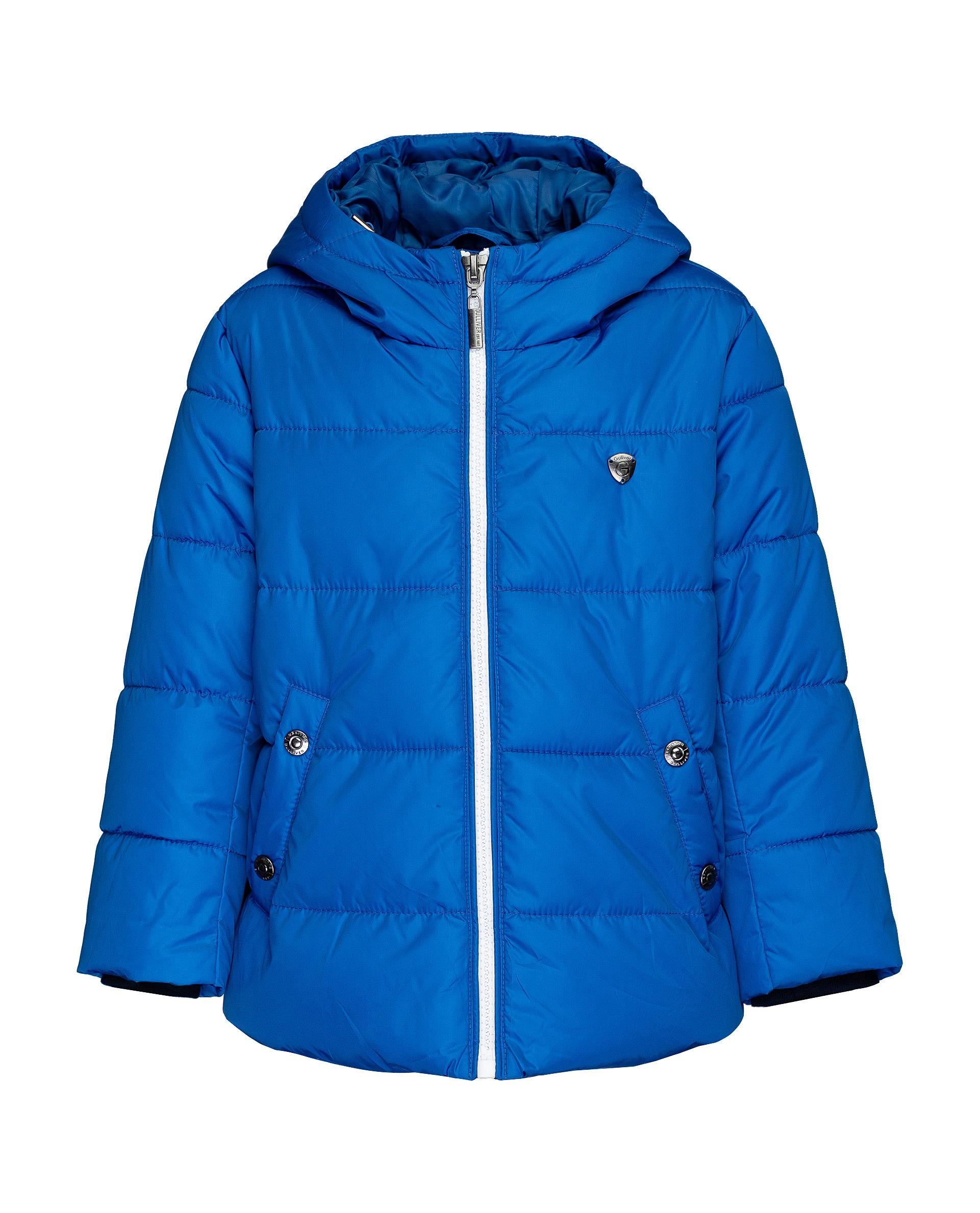 Купить 21906BMC4102, Куртка для мальчиков Gulliver, цв. синий, р.116,