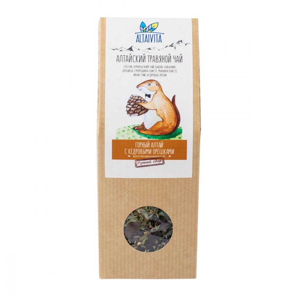 Чай Алтайвита горный Алтай с кедровыми орешками травяной 50 г