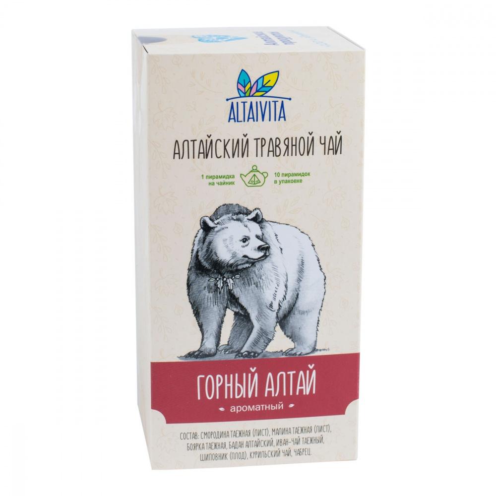 Чай Алтайвита горный Алтай травяной 10 пирамидок