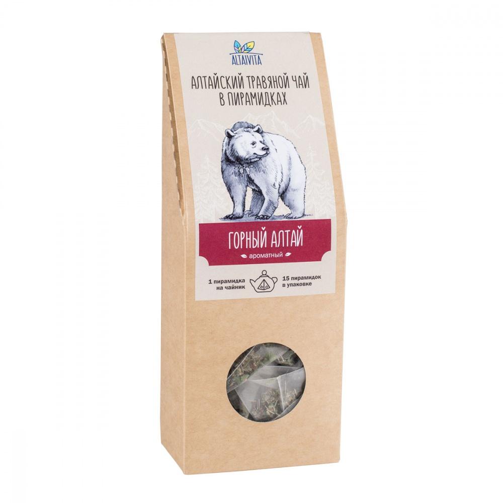 Чай Алтайвита горный Алтай травяной 15 пирамидок