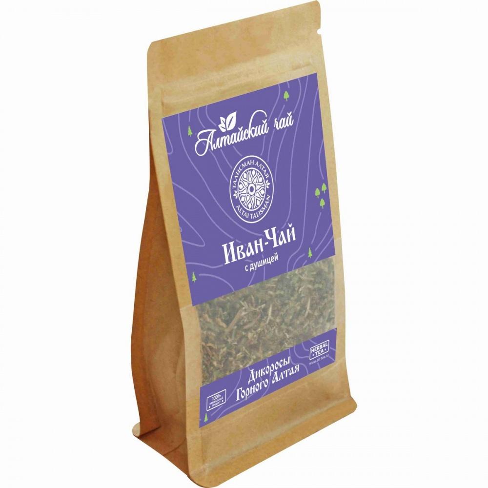 Чай Алтайский чай иван-чай с душицей травяной листовой 50 г