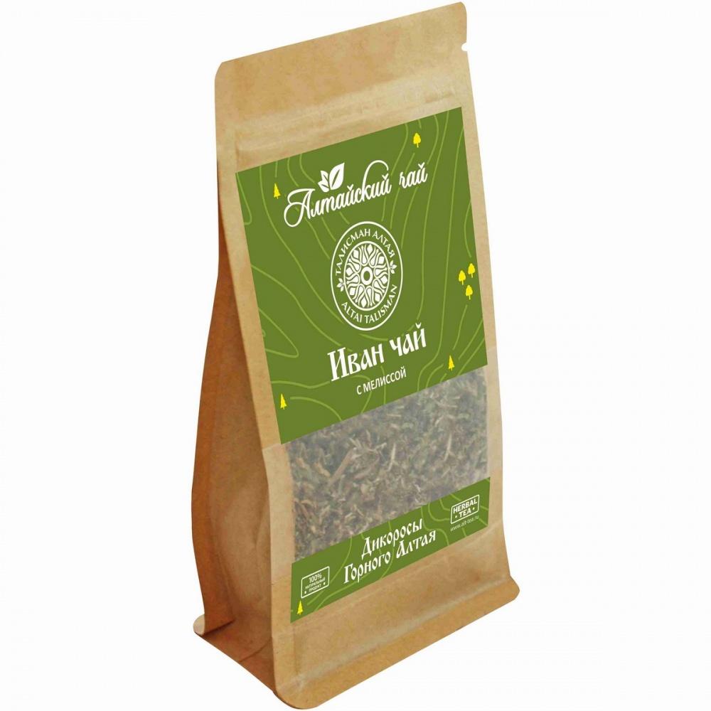 Чай Алтайский чай иван-чай с мелиссой травяной листовой 50 г