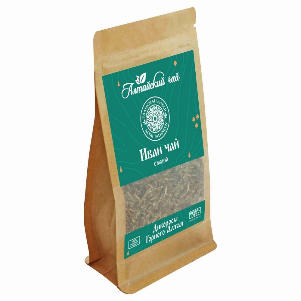 Чай Алтайский чай иван-чай с мятой травяной листовой 50 г