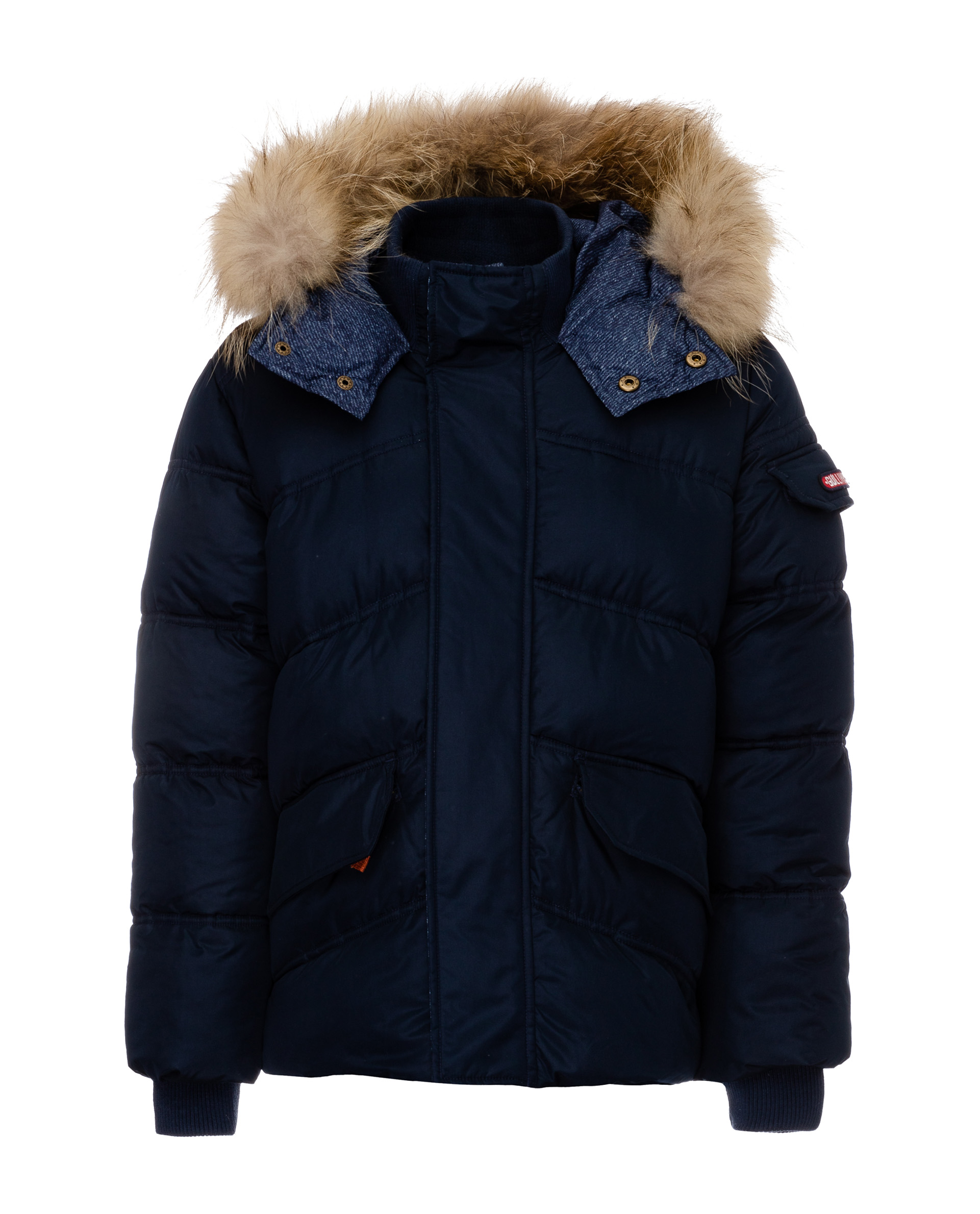 Купить 21911BJC4107, Куртка для мальчиков Gulliver, цв. синий, р.140,