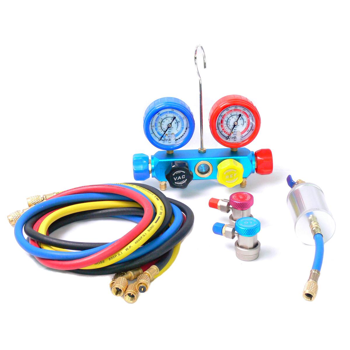 Набор инструмента для заправки систем кондиционирования